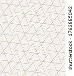 repetitive monochrome vector... | Shutterstock .eps vector #1763885042