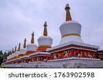 View Of The Tibetan Temple...