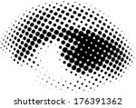 new vision of human eyes  | Shutterstock . vector #176391362