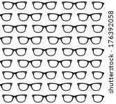 sunglasses background | Shutterstock .eps vector #176392058