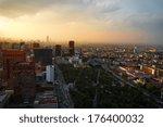pre columbian buildings in... | Shutterstock . vector #176400032