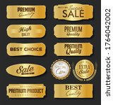 collection of sale and premium... | Shutterstock . vector #1764042002