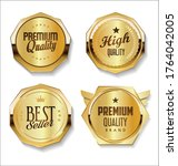 collection of sale and premium... | Shutterstock . vector #1764042005