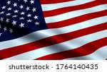 close up of american flag... | Shutterstock . vector #1764140435
