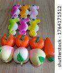 Squishy Seahorses  Oranges...