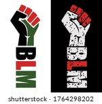 black lives matter quote for... | Shutterstock .eps vector #1764298202