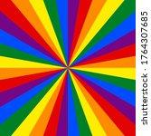 lgbt flag. rainbow background....   Shutterstock .eps vector #1764307685