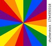 lgbt flag. rainbow background.... | Shutterstock .eps vector #1764350318