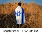 Jewish Israeli Young Man Stand...