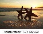 Sea Star Starfish Silhouette O...