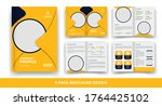 creative business bi fold... | Shutterstock .eps vector #1764425102