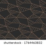 continuous elegant vector... | Shutterstock .eps vector #1764463832