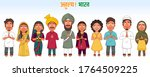 sticker style atulya bharat ... | Shutterstock .eps vector #1764509225