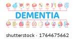 dementia brain disease minimal... | Shutterstock .eps vector #1764675662