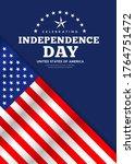 celebration flag of america...   Shutterstock .eps vector #1764751472