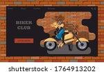 website template of biker club...