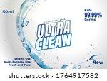 laundry detergent. powder for...   Shutterstock .eps vector #1764917582