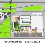 architecture design | Shutterstock . vector #176493515
