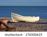 Dinghy On A Beach