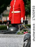 A Ceremonial Guard Stands Watc...