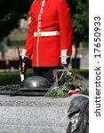 A Ceremonial Guard Stands Watc...