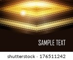 orange abstract background | Shutterstock .eps vector #176511242