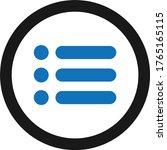 menu icon simple vector...