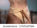 Bikini Girl Bottom Waist Detail ...