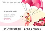 web page design for delivery... | Shutterstock .eps vector #1765170098