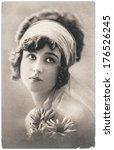 france  paris   circa 1920 ... | Shutterstock . vector #176526245