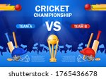 cricket championship poster...