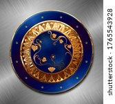 An Ancient Dacian Gold Shield...