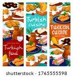 turkish food cuisine menu ... | Shutterstock .eps vector #1765555598