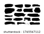vector grungy paint brush... | Shutterstock .eps vector #1765567112