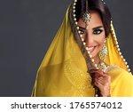 Beautiful Indian Girl . Young...