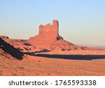 Stagecoach Butte at Monument Valley, Arizona