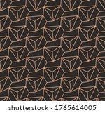 dark monochrome graphic... | Shutterstock .eps vector #1765614005