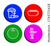 Coconut Icon Set. Collection Of ...