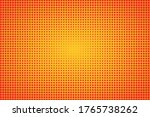 orange retro halftone... | Shutterstock .eps vector #1765738262