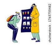 retailer gangster characters in ... | Shutterstock .eps vector #1765755482