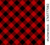 Black And Red Diagonal...