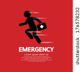 emergency concept vector... | Shutterstock .eps vector #176578232