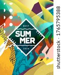 summer mood abstract background ... | Shutterstock .eps vector #1765795388
