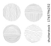 set of hand drawn line art...   Shutterstock .eps vector #1765796252