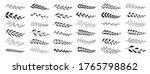 set of black laurels branches....   Shutterstock .eps vector #1765798862