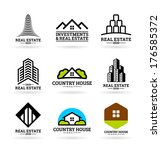 buildings. real estate  9  | Shutterstock .eps vector #176585372