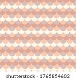 Colorful Scallop Pattern Vector ...