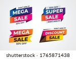 sales promotional banners  ... | Shutterstock .eps vector #1765871438
