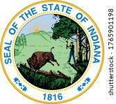 great seal of us federal state... | Shutterstock .eps vector #1765901198