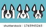 three dogs vector character...   Shutterstock .eps vector #1765945265